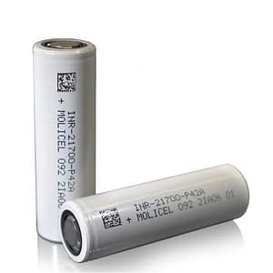 Molicel, 21700 p42a, battery, batteries