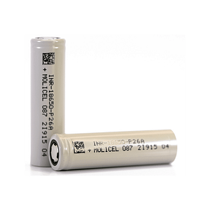 Molicel, Battery, Cell, Batteries, 18650, P26A